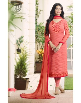 Ayesha Takia In Peach Georgette Salwar Suit  - 206