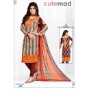 Office Wear Multi-Colour Cotton Salwar Suit  - 409