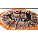 Navratri Special Blue & Orange Lehenga Choli - GF-L017