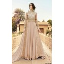 Festival Wear Light Peach Georgette Anarkali Suit  - 7108 B