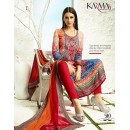 Office Wear Multicolour Satin Salwar Suit - 510