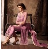 Festival Wear Purple Net Salwar Suit - 34003-B