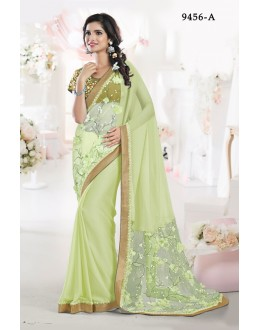 Ethnic Wear Liril Chiffon Saree - 9456-A