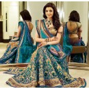 Bollywood Replica - Kajal Aggarwal In Ferozi Lehenga Choli - Dj-47 F