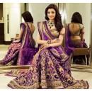 Bollywood Replica - Kajal Aggarwal In Purple Lehenga Choli - Dj-47 E