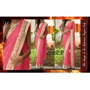 Bollywood Replica - Designer Pink Party Wear Saree - 9082-D