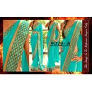 Bollywood Replica - Party Wear Blue Border Work Saree - 9079-A