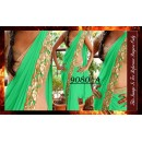 Bollywood Replica - Party Wear Green Border Work Saree - 9080-A
