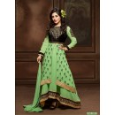 Festival Wear Green Anarkali Suit  - 12001