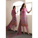 Party Wear Light Pink Georgette Salwar Suit - 962-04