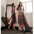 Party Wear Multicolour Georgette Salwar Suit - 962-08