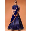 Bollywood Replica - Desiger Blue Lehenga Choli  - WCBlue