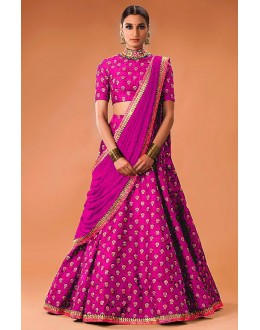 Bollywood Replica - Festival Wear Pink Lehenga Choli  - WCPink