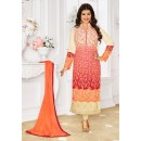Ayesha Takia In Multi-Colour Georgette Salwar Suit - 1153