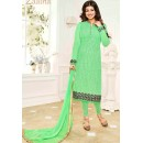 Ayesha Takia In Green Georgette Salwar Suit  - 1141