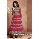 Ethnic Wear Heavy Georgette Pink Anarkali Suit - BT-12
