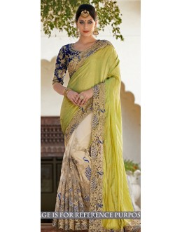 Bollywood Replica -  Designer Multicolour Saree - 1516-A