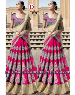 Bollywood Replica - Bridal Pink Lehenga Choli -  1521-D