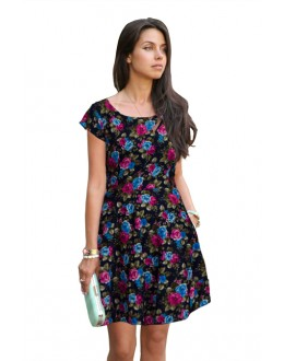 Fancy Readymade Magenta Western Wear Dress - D-24