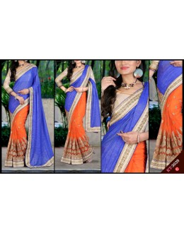Bollywood Replica - Designer Multicolour Saree - KT-3039-C