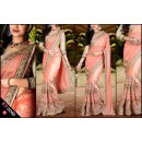 Bollywood Replica - Designer Peach Saree - KT-3040-C