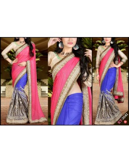 Bollywood Replica - Designer Multicolour Saree - KT-3041-A