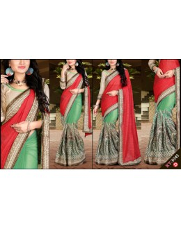 Bollywood Replica - Designer Multicolour Saree - KT-3041-D