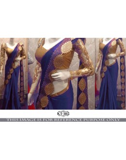 Bollywood Replica - Wedding Wear Purple Saree - KT-3112-C
