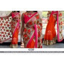 Bollywood Replica - Party Wear Multi-Colour Saree - KT-3117