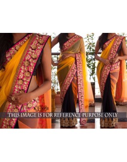 Bollywood Replica - Designer Multicolour Georgette Saree - KT-3051