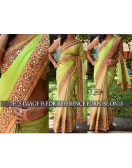 Bollywood Replica - Designer Multicolour Saree - KT-3058