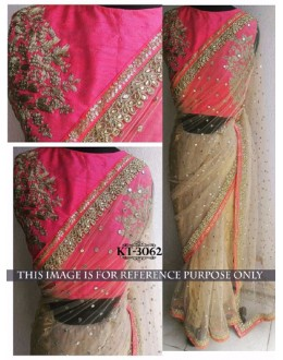 Bollywood Replica - Designer Multicolour Saree - KT-3062