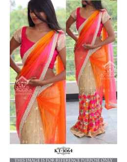 Bollywood Replica - Designer Multicolour Saree - KT-3064