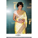 Bollywood Replica - Designer Yellow Georgette Saree - KT-30672-C