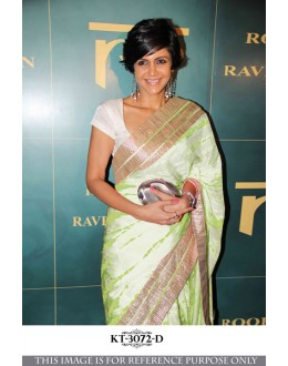 Bollywood Replica - Designer Light Green Georgette Saree - KT-30672-D