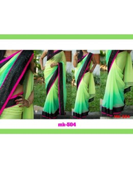 Bollywood Replica - Designer Multicolour Saree - Mk-504