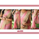 Bollywood Replica - Designer Light Pink Saree - Mk-513