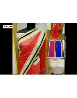 Bollywood Replica - Designer Multicolour Saree - Mk-708