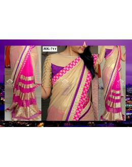 Bollywood Replica - Designer Multicolour Saree - Mk-711