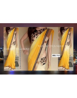 Bollywood Replica - Designer Multicolour Saree - Mk-712