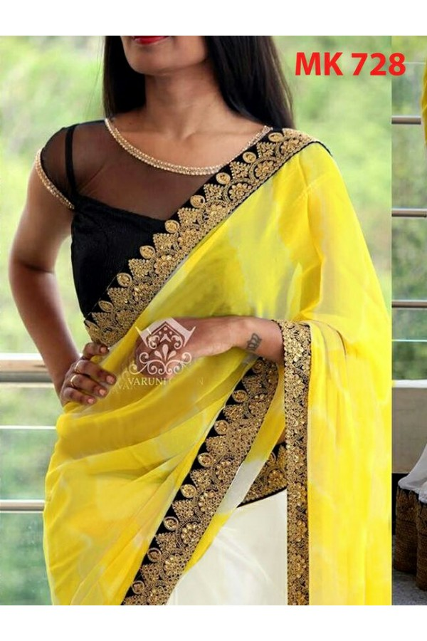 Bollywood Replica - Designer Multicolour Saree - Mk-728