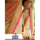 Bollywood Replica - Wedding Wear Beige Saree  - NX-59