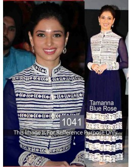 Bollywood Replica - Tamanna Bhatia In Designer Blue Gown - 1041