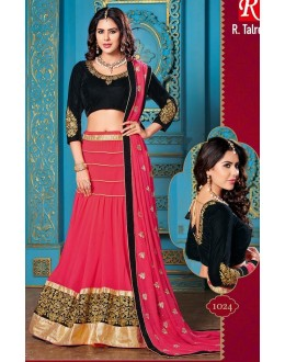 Designer Party Wear All Time Lahenga Saree- 1024(OM-tex)