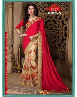 Bollywood Inspired - Karishma Kapoor In Multi-Colour Saree - 9827
