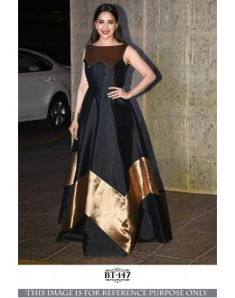 Bollywood Style - Madhuri Dixit In Black Fancy Gown - BT-147
