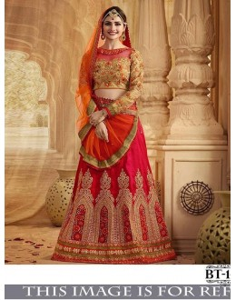 Bollywood Style - Prachi Desai in Multi-Colour Lehenga Choli - BT-148