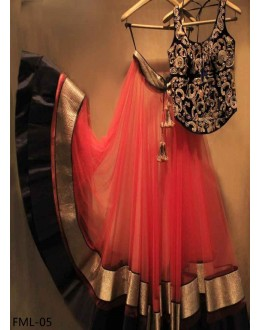 Bollywood Replica - Wedding Wear Red Lehenga Choli - FML-05