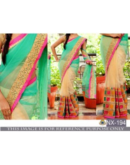 Bollywood Inspired - Designer Multi-Colour Saree - NX-194