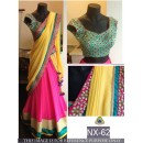 Bollywood Replica - Wedding Wear Multi-Colour Georgette Lehenga Choli - NX-62
